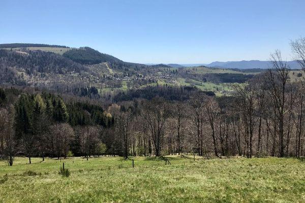 Randonner dans la vallée de la Bruche, c'est l'assurance de panoramas exceptionnels.