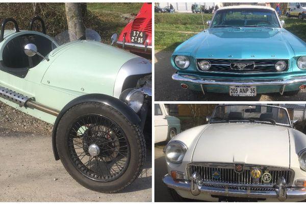 Les passionnés de voitures anciennes se donnent rendez-vous à Dol-de-Bretagne