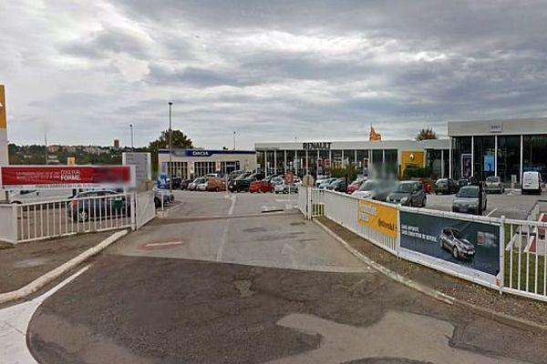 Capture écran Renault Perpignan - archives