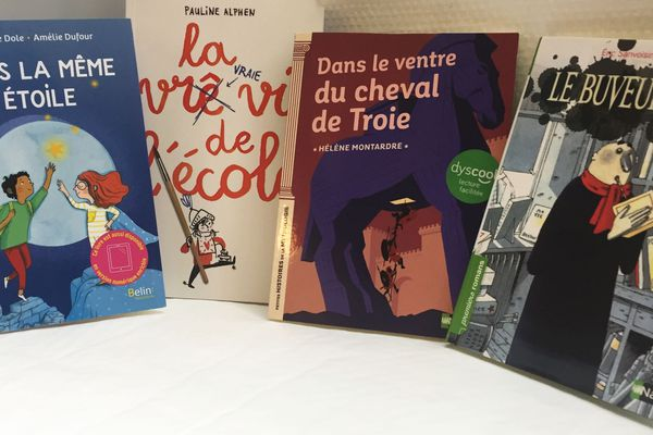 Des livres pour enfants dyslexiques