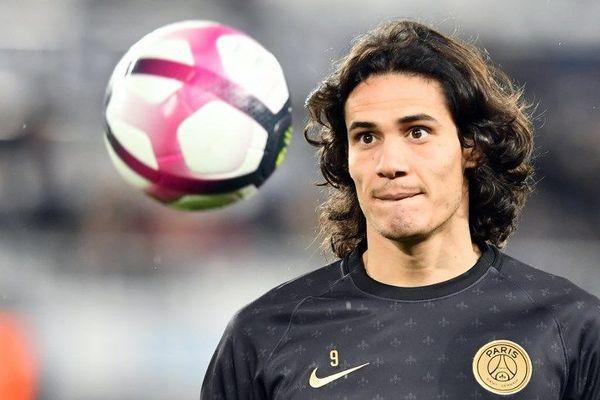 L'attaquant uruguayen du PSG, Edison Cavani