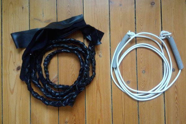 Cordes à sauter DIY : 2 écoles, 2 styles