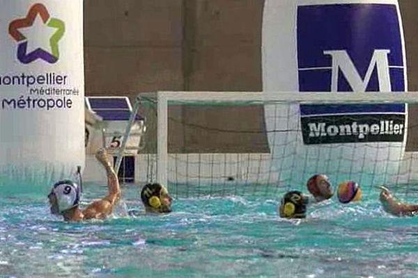 Montpellier - les poloïstes à l'entraînement - mai 2015.