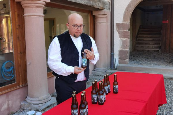 Présentation des quatre bières, vendredi 11 juin
