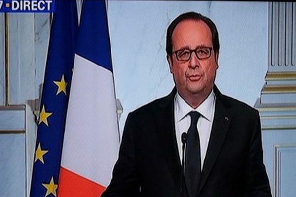 Allocution de François Hollande après l'attentat de Nice