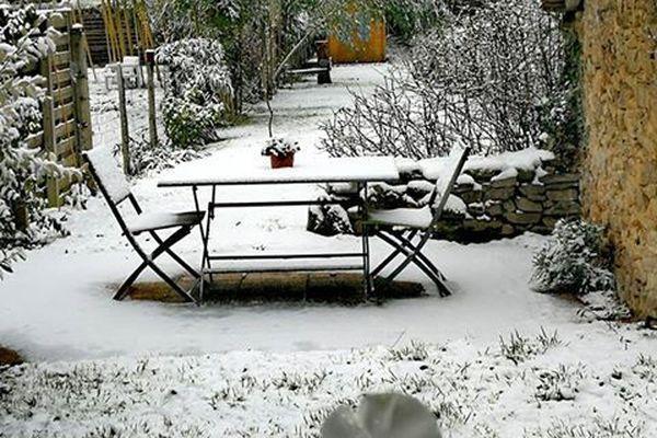 Neige à Landouge (Limoges) le 22.01.2019