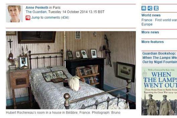 Publié le 14 octobre sur le site du Guardian, l'article de Anne Penketh a fait le tour de la toile.