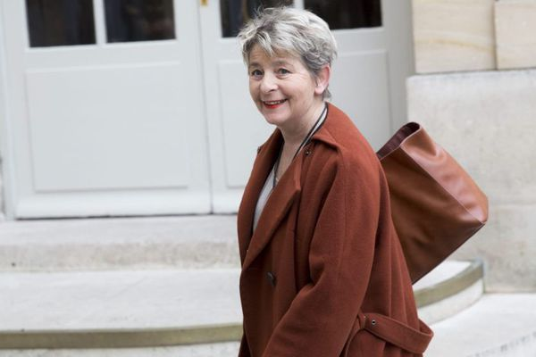 Marie-Guite Dufay, présidente de la région Bourgogne-Franche-Comté