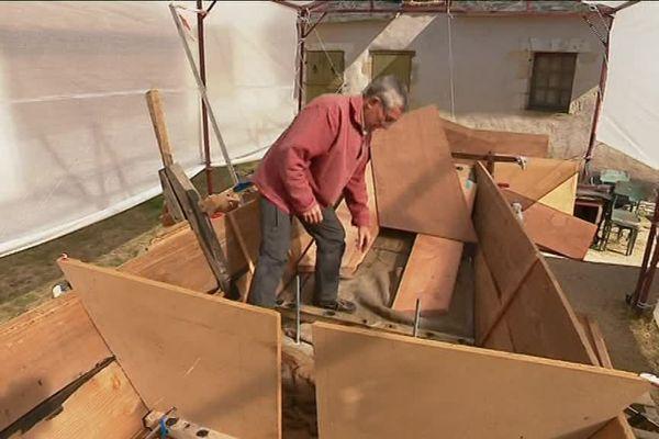 reconstruire un bateau d'époque, Un chantier pas comme les autres au Musée de la Marine de Loire