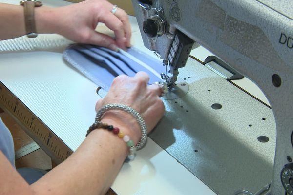 Les salariés des ateliers Gauthier, à Chalon, ont fabriqué 33 000 masques
