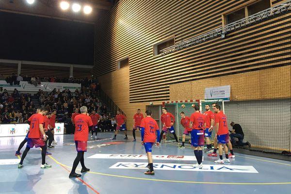 L'équipe du GFCA Handball s'est inclinée vendred face au PG handball dans le cadre des 8e de finale de la Coupe de France.