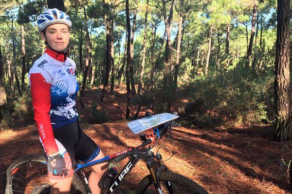 Lilou Pauly - Championne de France - VTT orientation