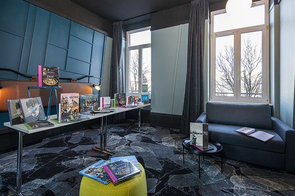 Un salon du livre dans l'hôtel Tandem, le temps d'un week-end