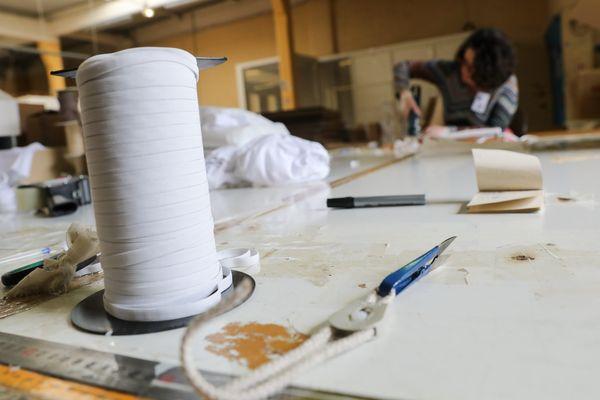 650.000 masques seront fabriqués en Charente-Maritime.