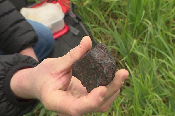Voilà à quoi pourrait ressembler la météorite tant recherchée.
