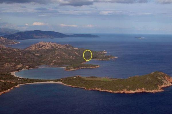 Situation des deux villas construites illégalement sur le golfe de la Rondinara (Corse du Sud)