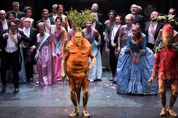 Le roi carotte