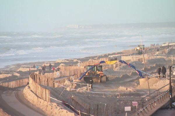 Le circuit de l'Enduropale ce samedi après-midi : menacé par la marée ?
