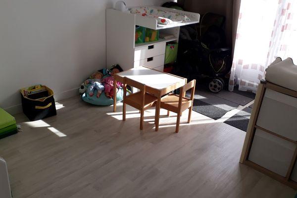 La salle de jeux de Chrystelle, assistante maternelle à Monts en Indre-et-Loire, n'accueille plus d'enfants depuis lundi.