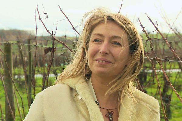 Annabelle Degroote s'est inspirée des richesses des vignobles environnants pour créer une ligne de bijoux naturels