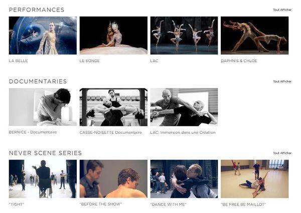L'interface de BMC Stream s'apparente aux célèbres plateformes de vidéos en ligne, avec une bibliothèque dans laquelle les contenus sont classés selon leur genre.