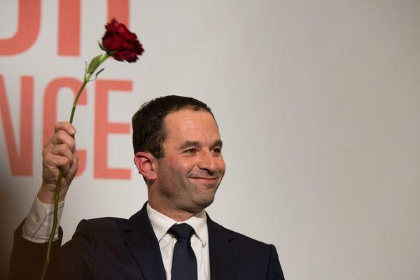 Benoït Hamon est arrivé en tête des suffrages en Auvergne le 29 janvier 2017