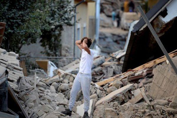 Le village d'Amatrice est l'un des plus touchés par le séisme.