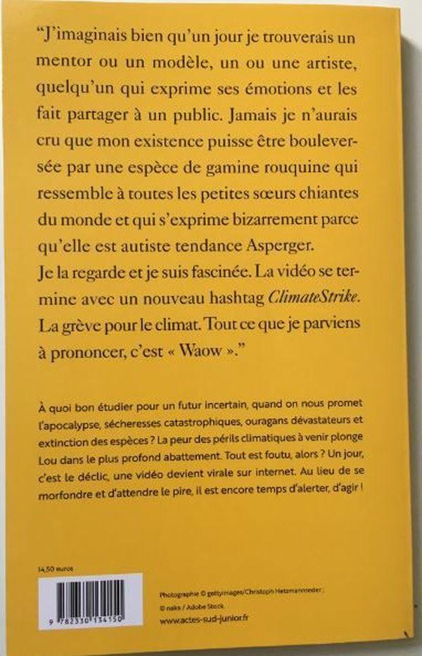 """La quatrième de couverture du nouveau livre de Jean-Philippe Blondel, """"Il est encore temps"""""""