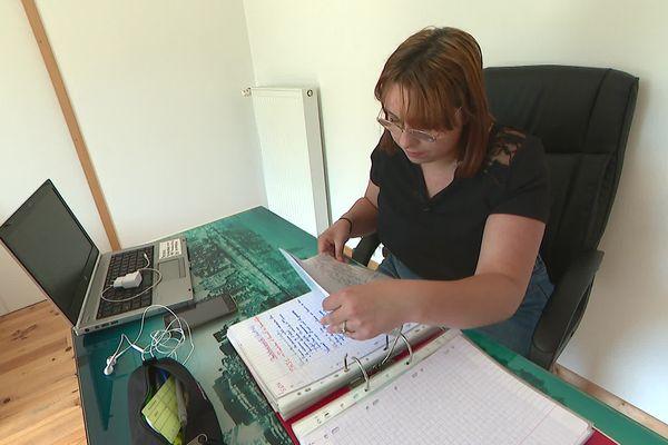 Amandine, comme une soixantaine d'autres lycéens du Beaujolais, doit repasser une épreuve de Bac Pro après la perte des copies