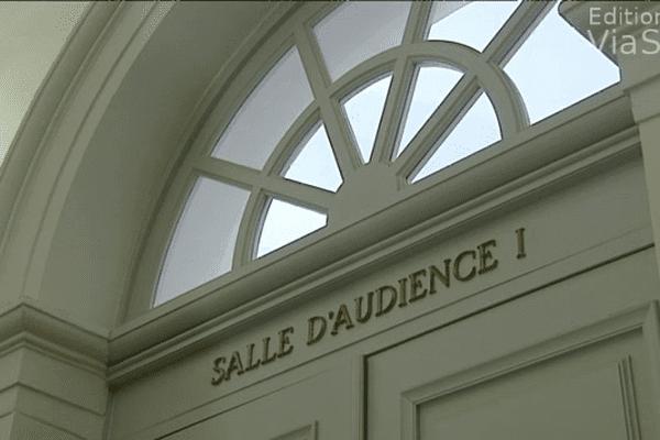 Salle d'audience du tribunal d'Ajaccio (Archives)