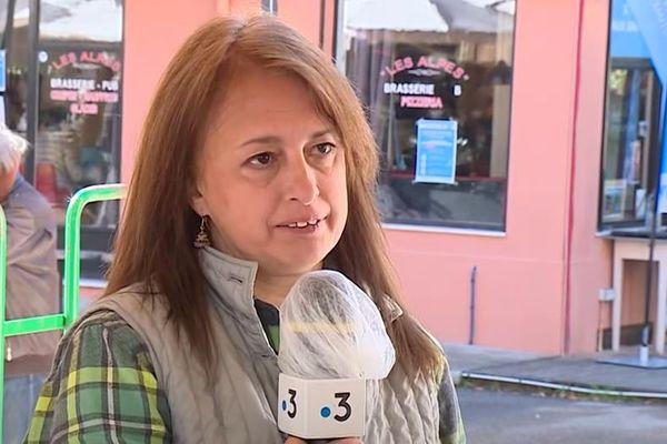 PourAline Viguier-Le Griel,amie de la famille et présidente de l'Association
