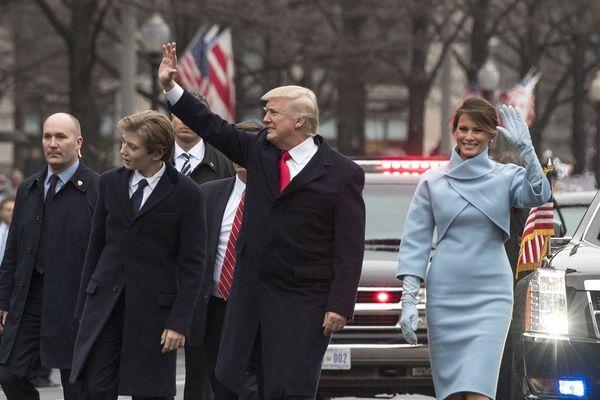 Des gants made in Limousin pour Melania Trump le jour de l'investiture américaine