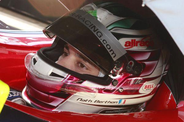 Le pilote Nathanaël Berthon, originaire de Baumont (Puy-de-Dôme)  XXe des 24h du Mans le 15 juin.
