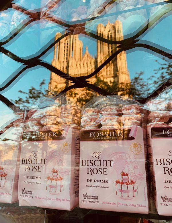 Spécialité rémoise reconnue, le biscuit rose perd sa clientèle.