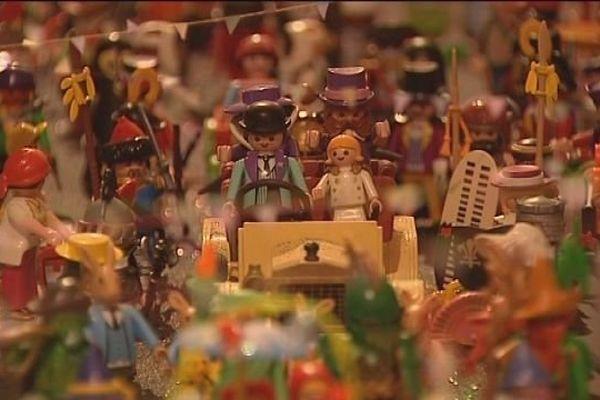 Une ville reconstituée en Playmobil. De quoi émerveiller petits et grands.