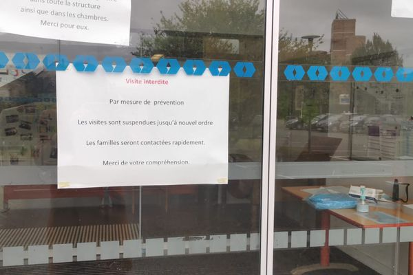 Les visites sont désormais interdites à l'Ehpad Henri-Dunant de Saint-Calais dans la Sarthe
