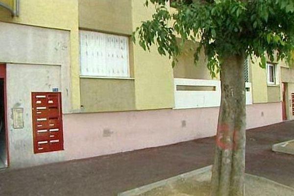 Montpellier - l'immeuble de la Paillade où la jeune femme de 36 ans a été retrouvée poignardée, dimanche - 13 mai 2014.