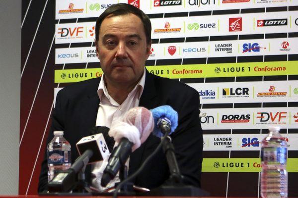 Si le président du DFCO, Olivier Delcour,t salue la solution trouvée avec Canal Plus, la situation reste selon lui très préoccupante.
