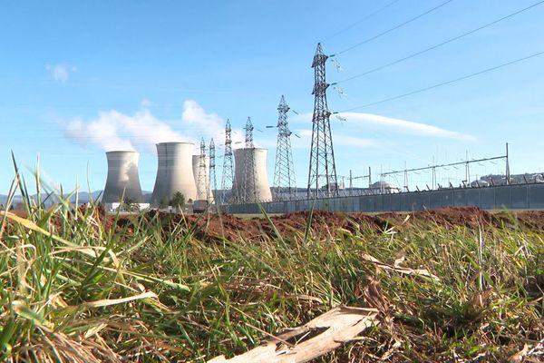 La centrale nucléaire du Bugey à Sain-Vulbas (Ain).