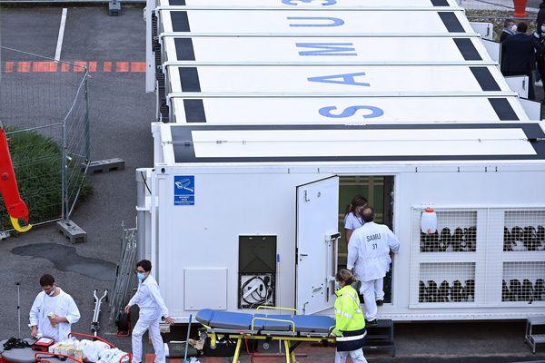L'hôpital mobile conçu par le Samu de Toulouse pourrait bientôt servir de vaccinodrome