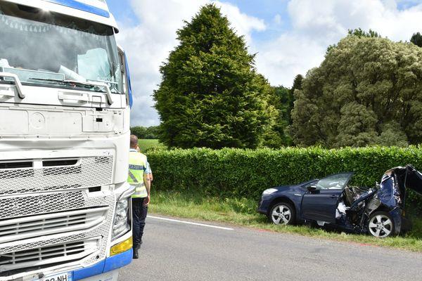 L'accident entre une voiture et un camion à Pluguffan le 7 juin dernier avait coûté la vie à un bébé de 10 mois et à son père.