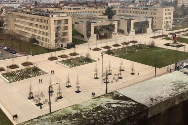 Le campus de l'université de Dijon