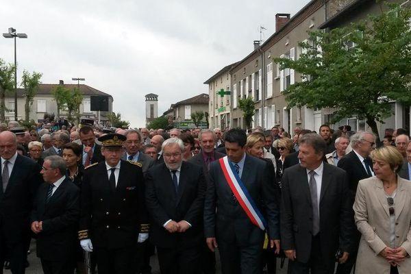 Jean-Marc Todeschini, Secrétaire d'État chargé des Anciens Combattants et de la Mémoire à Oradour le 10 juin 2015