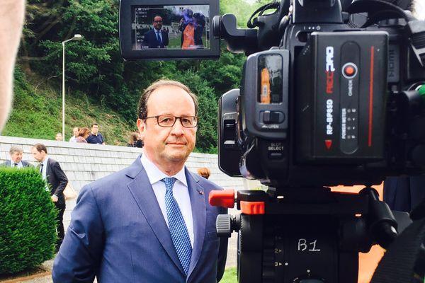 François Hollande à Tulle en juin 2017