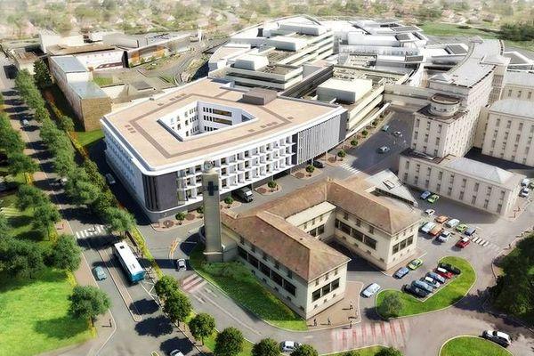 Voici à quoi ressemblera l'Hôpital de Périgueux à l'automne 2019