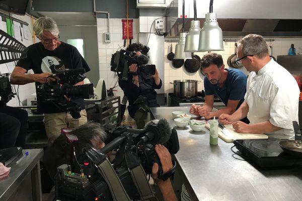 Mike Allen chef gastronomique de talent !