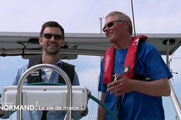 En immersion avec Thierry, skipper normand