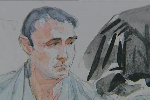 """04/06/15 - """"On m'a fabriqué un personnage"""" assure Guy Orsoni devant la cour d'assises des Bouches du Rhône"""