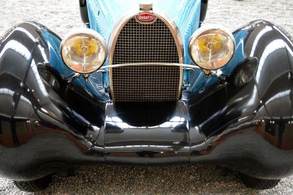 Une Bugatti 35B, à la Cité de l'Automobile de Mulhouse