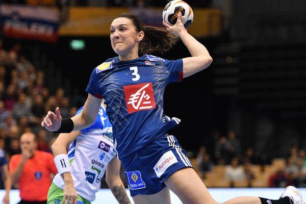 Blandine Dancette occupera le poste d'ailière au sein de l'équipe de France aux JO de Tokyo